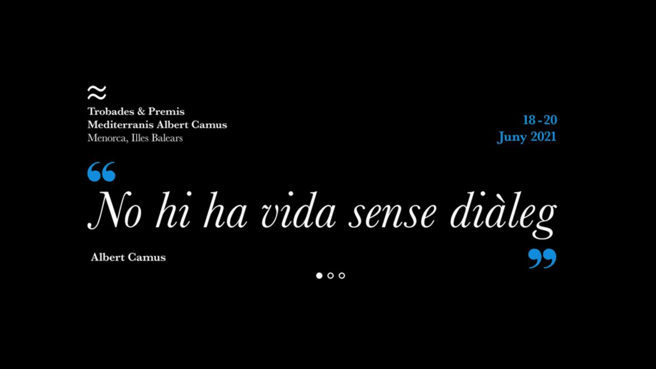 María Pagés en Trobades & Premis Mediterranis Albert Camus