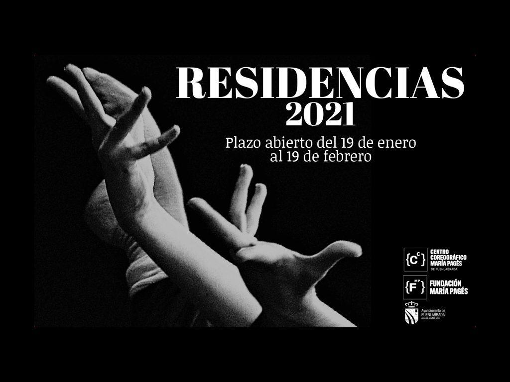 RESIDENCIAS COREOGRÁFICAS DE FUENLABRADA 2021